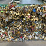 Paris bridges are carrying the burden of lovers